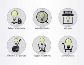 samnam83 tarafından Light Bulb Store Button / Icons için no 85