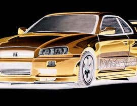 #55 для Tshirt artwork based on a real life car от parvezahmadjoy