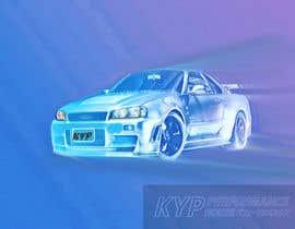 #11 для Tshirt artwork based on a real life car от tania2008