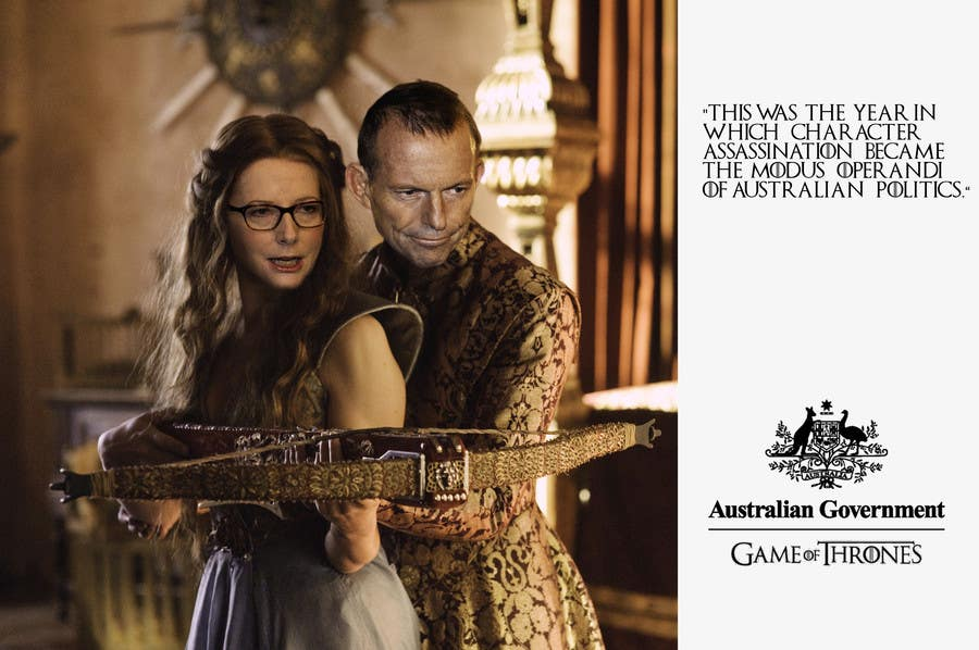 #86 para Photoshop Aussie Politicians into Game of Thrones Mashup de ZuBisou89