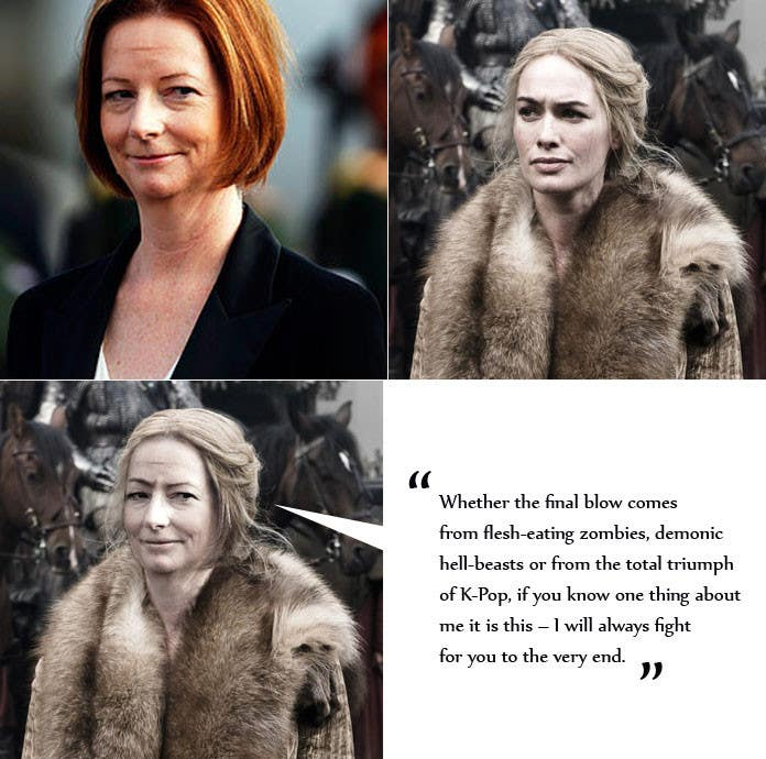#35 for Photoshop Aussie Politicians into Game of Thrones Mashup by vlasov14