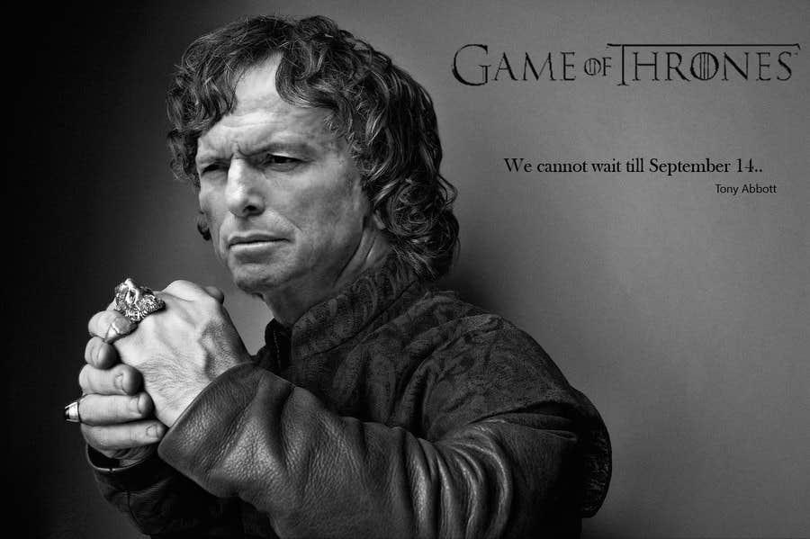 Penyertaan Peraduan #111 untuk Photoshop Aussie Politicians into Game of Thrones Mashup