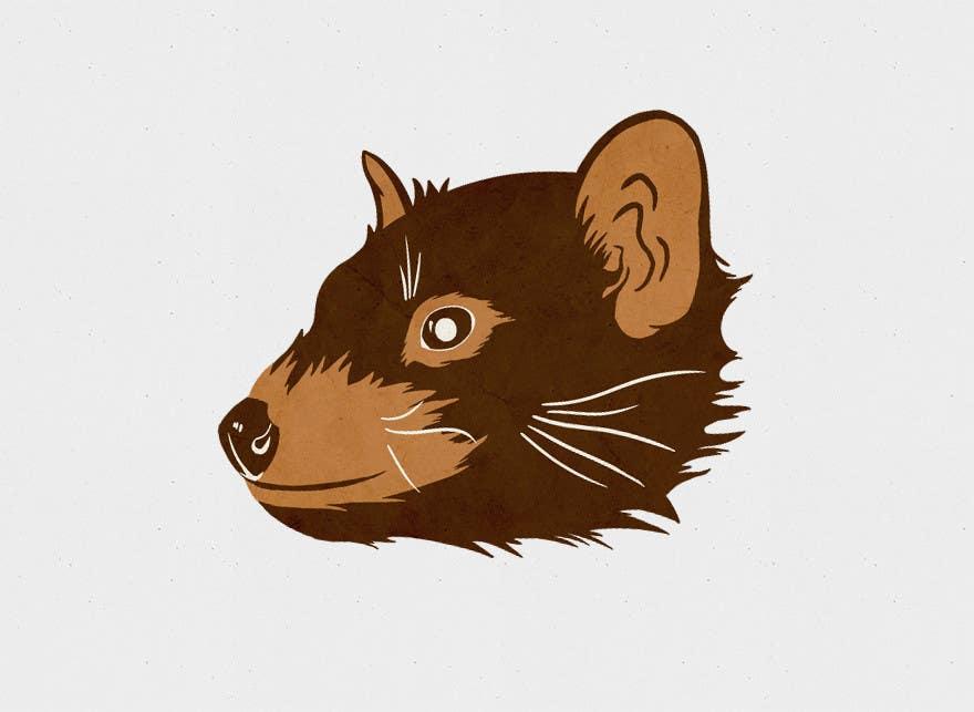 Kilpailutyö #27 kilpailussa Illustration Design for Tasmanian Devil (Chocolate Mold)