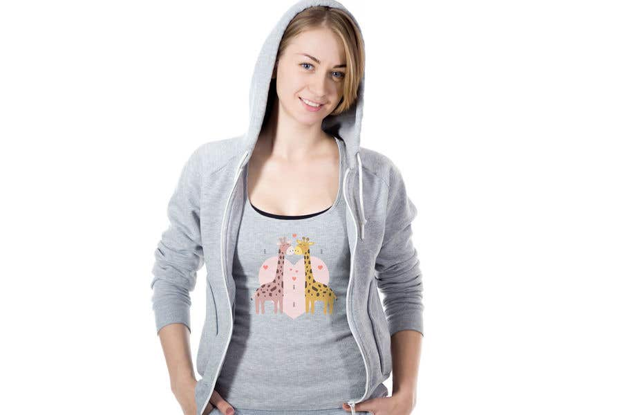 Kilpailutyö #61 kilpailussa Fun Designs for Ladies Nightshirts