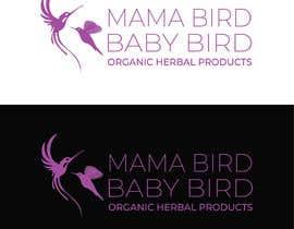 #24 untuk Mama Brid Baby Bird logo design oleh Rakibul0696