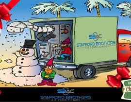 #49 for Australian HVAC Christmas Card by sohelma
