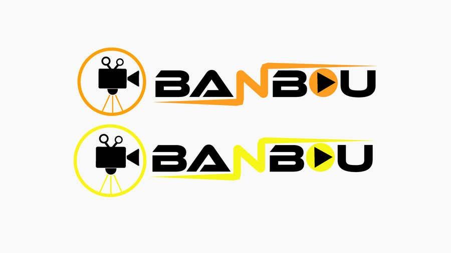 "Kilpailutyö #11 kilpailussa Need a logo for a video streaming Service named ""Banbou""."