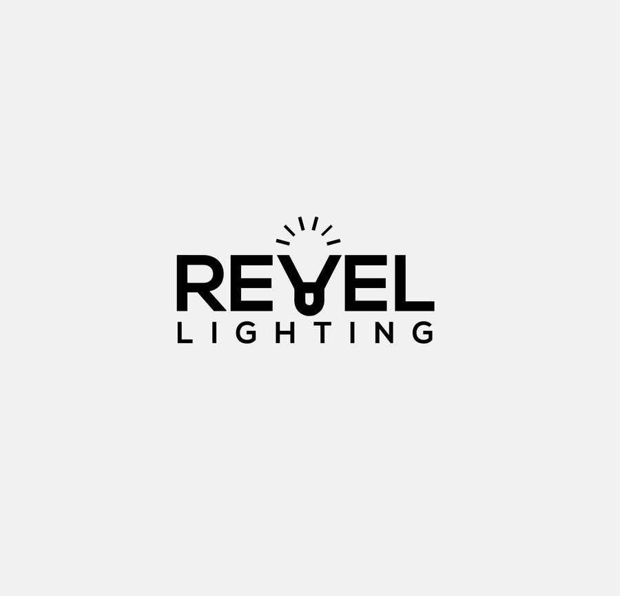 """Penyertaan Peraduan #349 untuk design """"revel"""" a brand logo"""