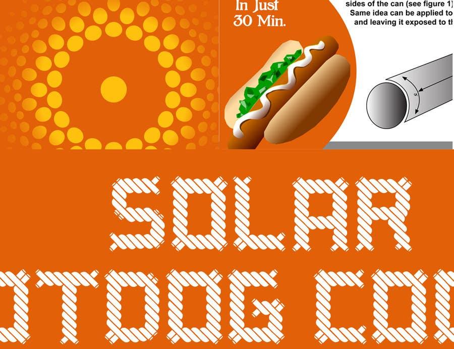 Kilpailutyö #9 kilpailussa The Exciting Hot Dog Solar Cooker