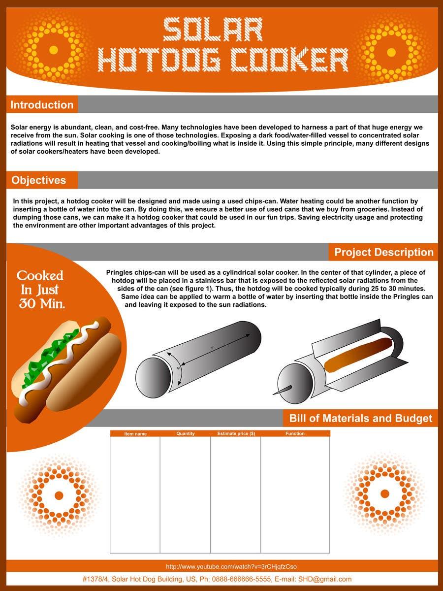 Bài tham dự cuộc thi #                                        10                                      cho                                         The Exciting Hot Dog Solar Cooker