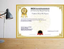 Nro 58 kilpailuun University Certificate käyttäjältä mdaual88