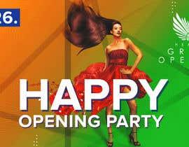 """Nro 93 kilpailuun """"Happy"""" party events creative concept - facebook cover käyttäjältä EagleDesiznss"""
