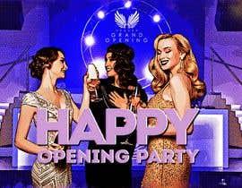"""Nro 63 kilpailuun """"Happy"""" party events creative concept - facebook cover käyttäjältä Sistah187"""