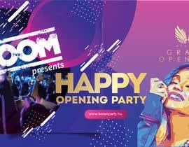 "Nro 59 kilpailuun ""Happy"" party events creative concept - facebook cover käyttäjältä Manaf007"