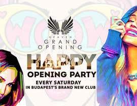 """Nro 75 kilpailuun """"Happy"""" party events creative concept - facebook cover käyttäjältä tusher98"""