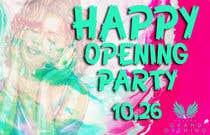 "Graphic Design Kilpailutyö #57 kilpailuun ""Happy"" party events creative concept - facebook cover"