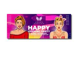 """Nro 92 kilpailuun """"Happy"""" party events creative concept - facebook cover käyttäjältä alfasatrya"""