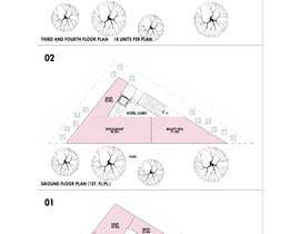#13 pentru Commercial Building 2D Layout / Plan / Concept/ Ideas drawing needed from scratch de către arquitecturamx