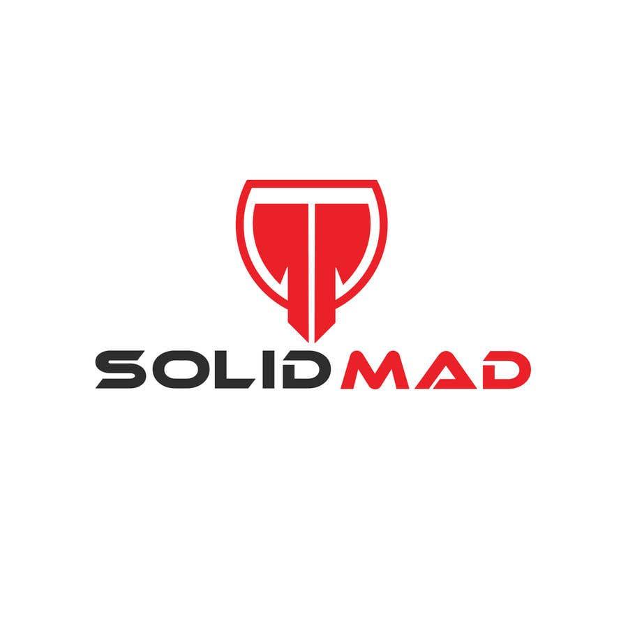 """Intrarea #5521 pentru concursul """"Logo for sportsware and sportsgear brand """"Solid Mad"""""""""""