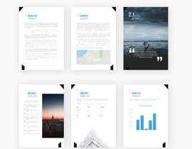 #6 untuk Document Design for a Business Plan- for print oleh usamawajeeh123