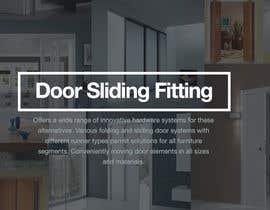 #11 cho Design a Banner for Door Sliding fittings for our website bởi rockthepixels