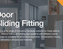 #13 cho Design a Banner for Door Sliding fittings for our website bởi rockthepixels
