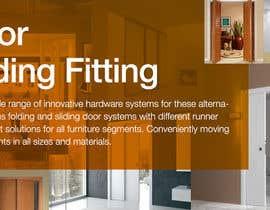 #14 cho Design a Banner for Door Sliding fittings for our website bởi rockthepixels