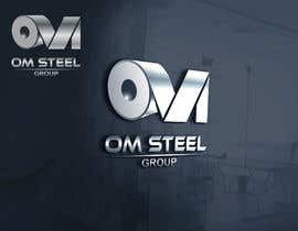 #96 untuk Logo for our Company OM STEEL GROUP oleh primonchowdhury