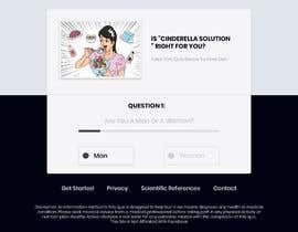 #24 for Design a very simple quiz webpage in a modern and attractive way by RoyalEffects