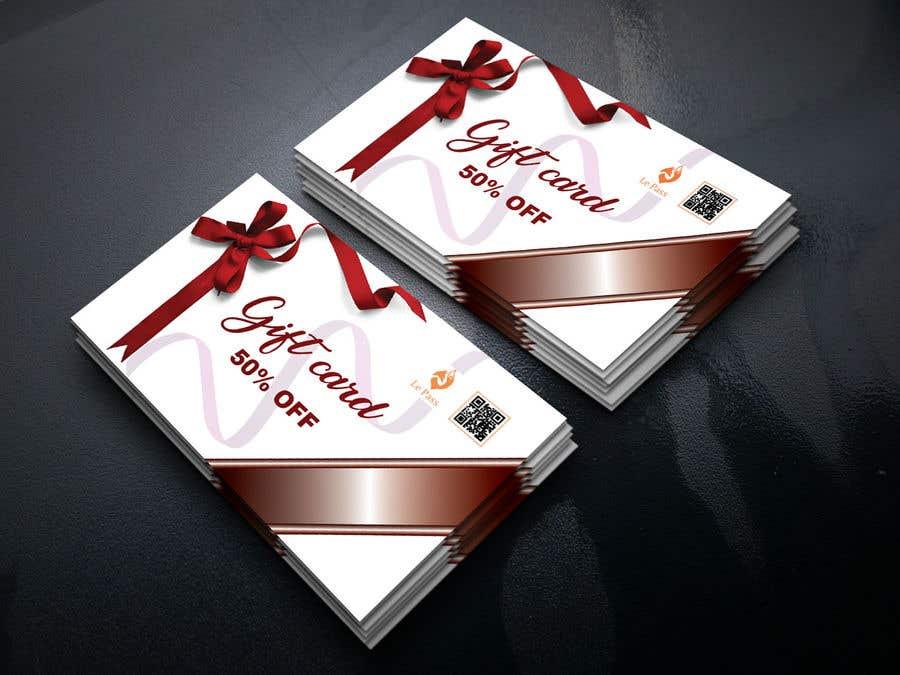 Bài tham dự cuộc thi #20 cho Gift card design