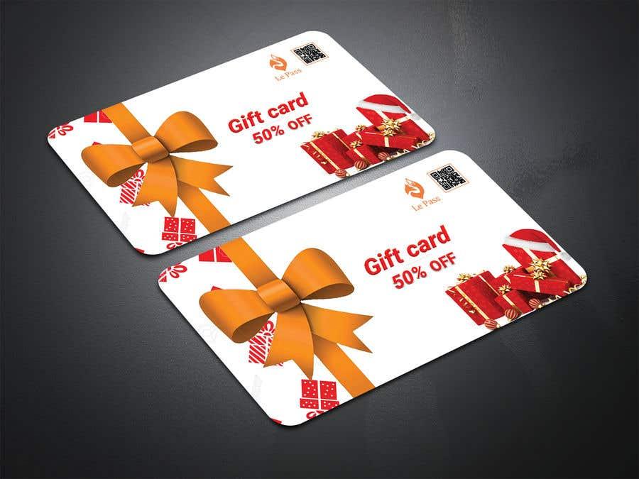 Bài tham dự cuộc thi #24 cho Gift card design