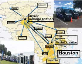 nº 39 pour Need Graphic of Service Area Map par graphicdesigne1