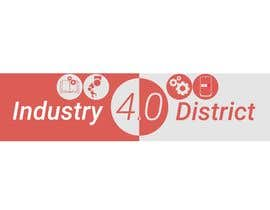 #20 untuk Try to design a futuristic logo which reflects the identity of a district that adopts the concepts of industry 4.0 (the 4th industrial revolution, which also somehow aligns with the university logo theme (attached) oleh Yoova