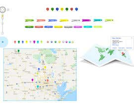 #21 cho UI/UX/branding for positioning service (Mobile browser) bởi SK813
