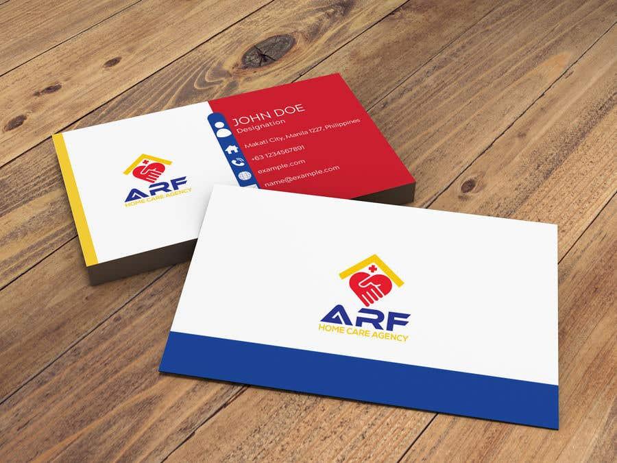 Penyertaan Peraduan #347 untuk Design a company business card