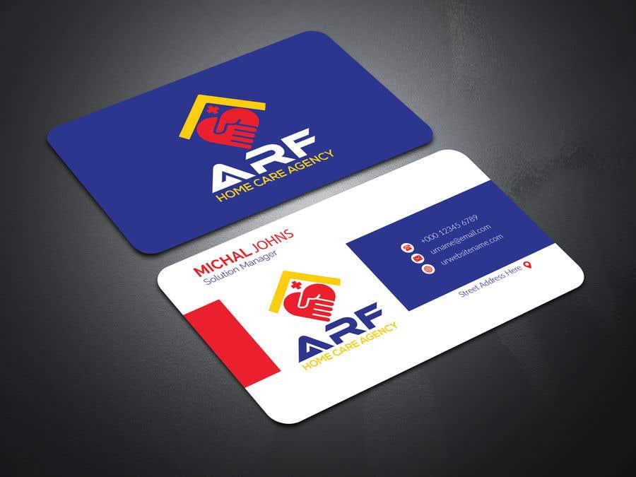 Penyertaan Peraduan #384 untuk Design a company business card