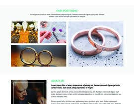 #39 for Website-Design for a OnePage (no coding) for handmade jewelry and other stuff by WebCraft111