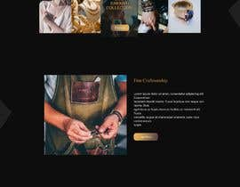 #35 for Website-Design for a OnePage (no coding) for handmade jewelry and other stuff by BwBest