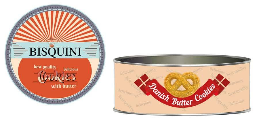 Bài tham dự cuộc thi #20 cho Retro design of Danish Butter cookie in round  tin