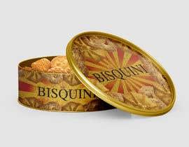 #22 untuk Retro design of Danish Butter cookie in round  tin oleh almaktoom