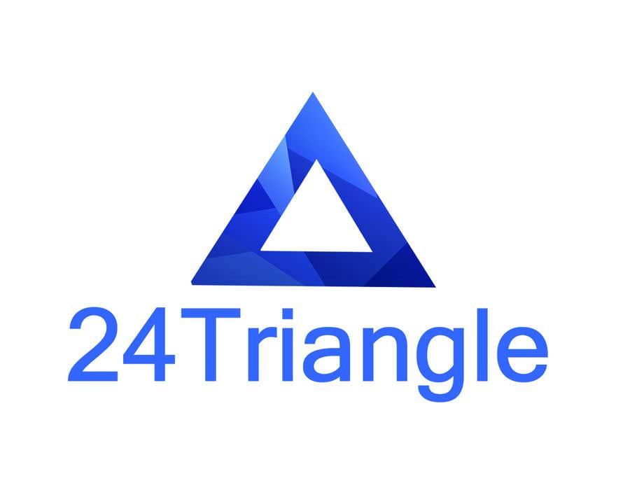 """Inscrição nº 1366 do Concurso para Create a logo for """"24 Triangle"""""""