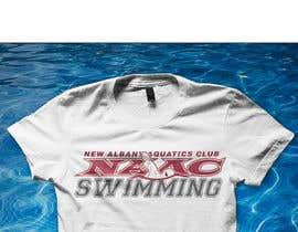 Nro 18 kilpailuun Swim Team TEe Shirt Design käyttäjältä francokristan