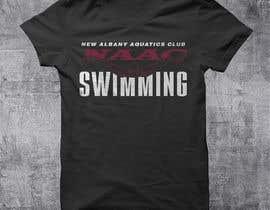Nro 22 kilpailuun Swim Team TEe Shirt Design käyttäjältä hasembd