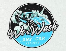 #254 for Car wash Brand identity by yuvnashva