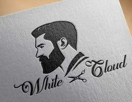 Nro 92 kilpailuun This logo is for man saloon and its name is white cloud .. I need creative logo käyttäjältä Pranta777