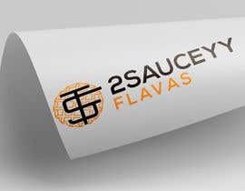 #13 untuk Logo Design  Title: 2SauceyyFlavours / TooSauceyyFlavours With graphic of Mixed Caribbean Food into logo  - fried chicken & mac n cheese & prawns & waffles etc  - 21/10/2019 13:13 EDT oleh logoque