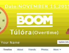 "#5 para ""Overtime"" party event facebook cover por Zaxon12"
