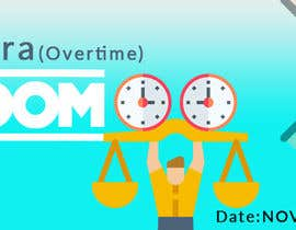 "#7 para ""Overtime"" party event facebook cover por Zaxon12"