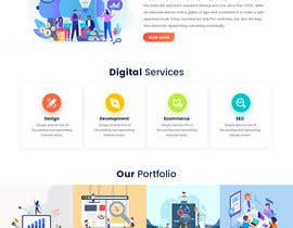 #74 for Digital Agency Multi Page Web Template by syrwebdevelopmen