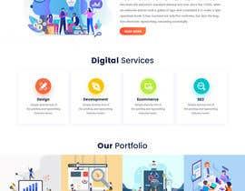 #74 for Digital Agency Multi Page Web Template af syrwebdevelopmen